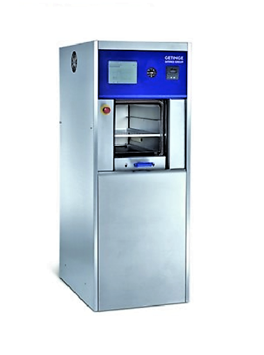 Getinge HS33 sterilizers offer high capacity that ensures superior production efficiency. They are available in two chamber models – single-door or double-door pass-through – with automatic or manually operated vertical space-saving sliding doors.