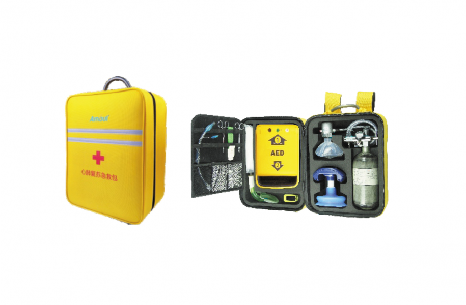 Is an ideal all-in solution for emergency and rescue. Comes with an AED, CPR, finger pulse oximeter, laryngeal mask with tracheal cannula, and DVR respirator. The consisting equipment included can be customized and configured to suit your needs.