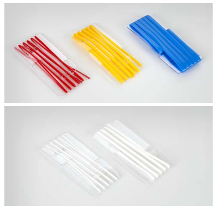 Used for intraoperative organization and identification of arteries, veins, nerves or tendons. The four colors and different variants can be used to identify vessels and anatomical structures.