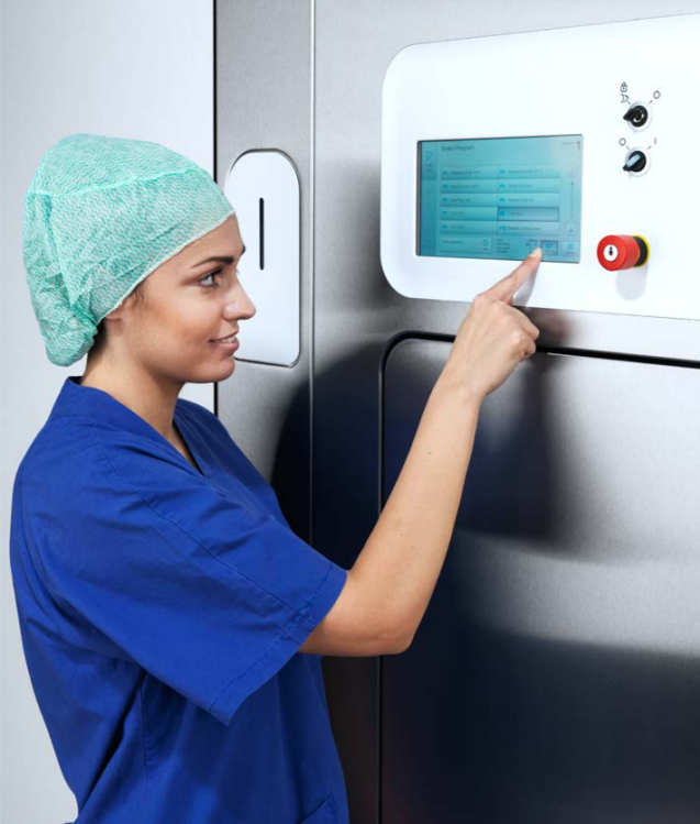 Getinge GSS67F is a huge leap forward for any hospital. With the process time savings and a greater load capacity than comparable low-temp sterilizers, this brand new sterilizer not only offers the fastest turnaround, but also easy and economical operation combining low temperature steam and formaldehyde sterilization methods in one product.