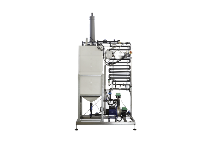 NEWSTER® PURA CO3MPACT technology allows to treat laboratory wastewater by the introduction of the relative liquid component into the public sewer, with an organic and inorganic pollutants removal greater than 90% and a complete removal of biologic hazards. Thanks to its small size, automatic operations, and the need of minimal maintenance, this is ideal to be installed inside hospitals and medical laboratories.